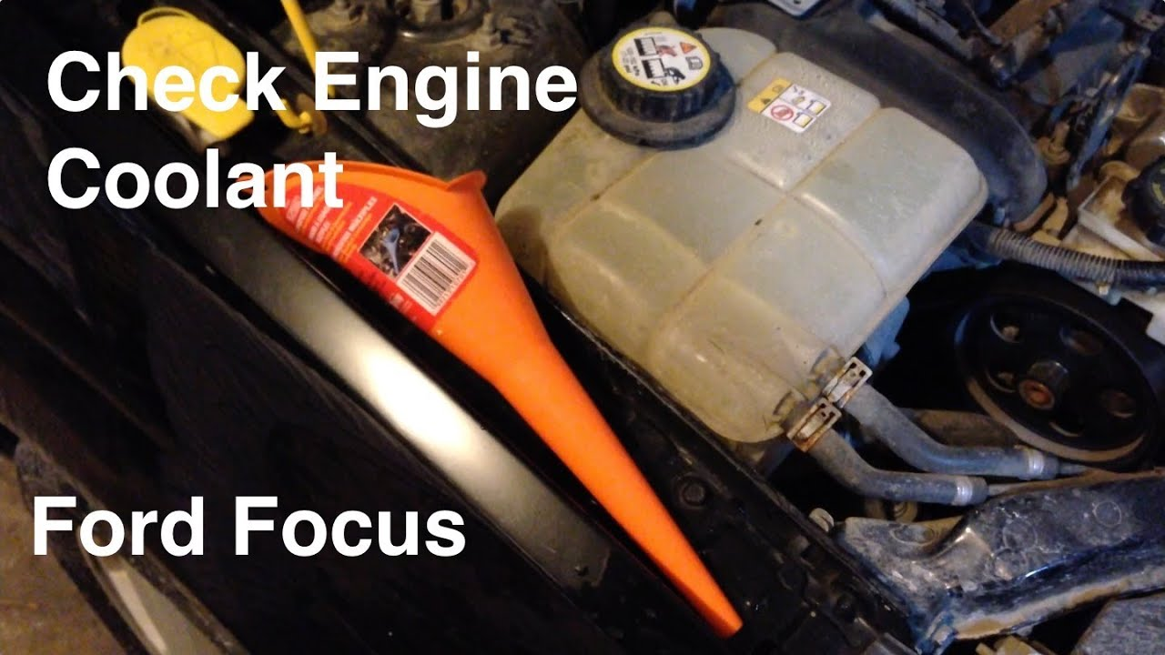 small resolution of 2000 2007 ford focus coolant antifreeze reservoir