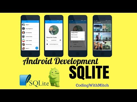 Contacts List App (Demo) - [Android SQLite Course]