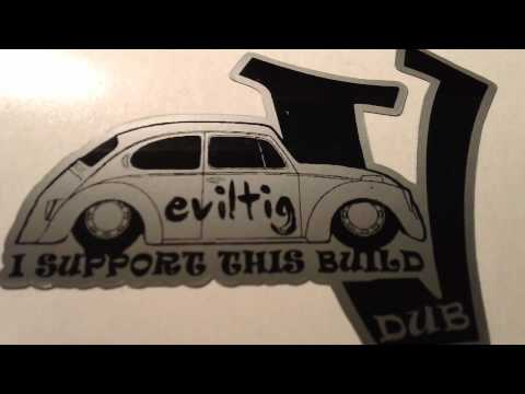 VW Beetle Shirt and sticker idea