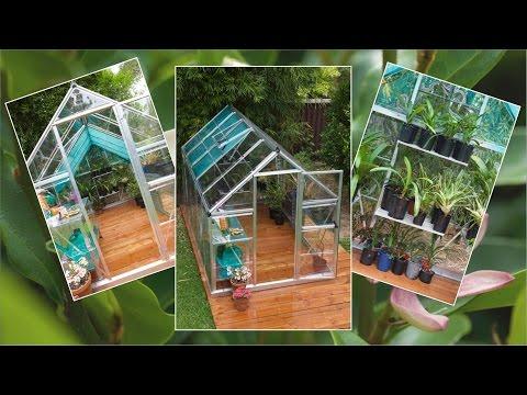Easy DIY Sleeper Deck & Greenhouse
