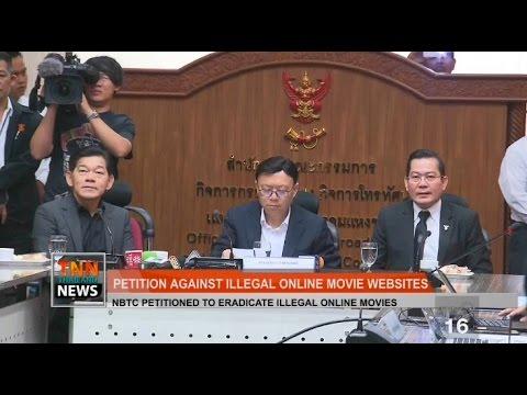 TNN THAILAND NEWS ข่าวภาคภาษาอังกฤษ : Petition against illegal online movie websites