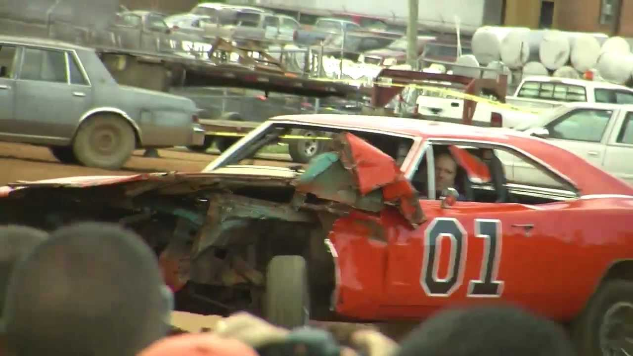 General Lee Mishap At Hazzard Comes To Galax 2012 Youtube