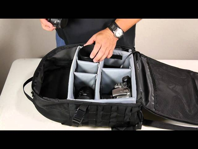 The Photo Pro Solar Backpack