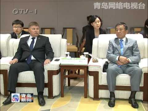 Vastmanland Governor met with Qingdao Mayor