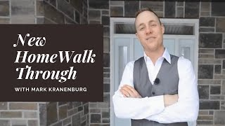 New Home walkthrough - Greenmark Builders TV