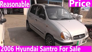 2006 Hyundai Santro For Sale with CNG Beautiful Car | Price Detail, Specification & and Features