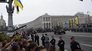 День победы  Киев 2017 . Парад военной техники ВСУ