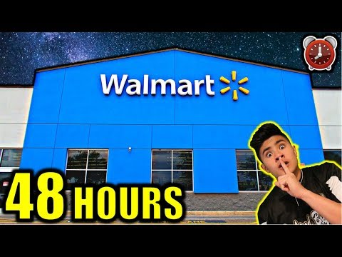 48-hour-overnight-challenge-in-walmart!!!-(part-1)