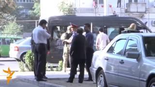 Видео с места перестрелки в Душанбе(Утром 4 сентября на