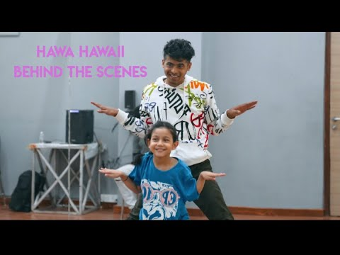 Hawa Hawaii BTS • #FLOTUS • Super Dancer 4 • Florina Gogoi & Tushar Shetty • Grand Premiere