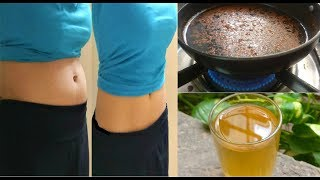 Lose belly fat in 1 week, Honey - Cinnamon weight loss drink, cinnamon tea