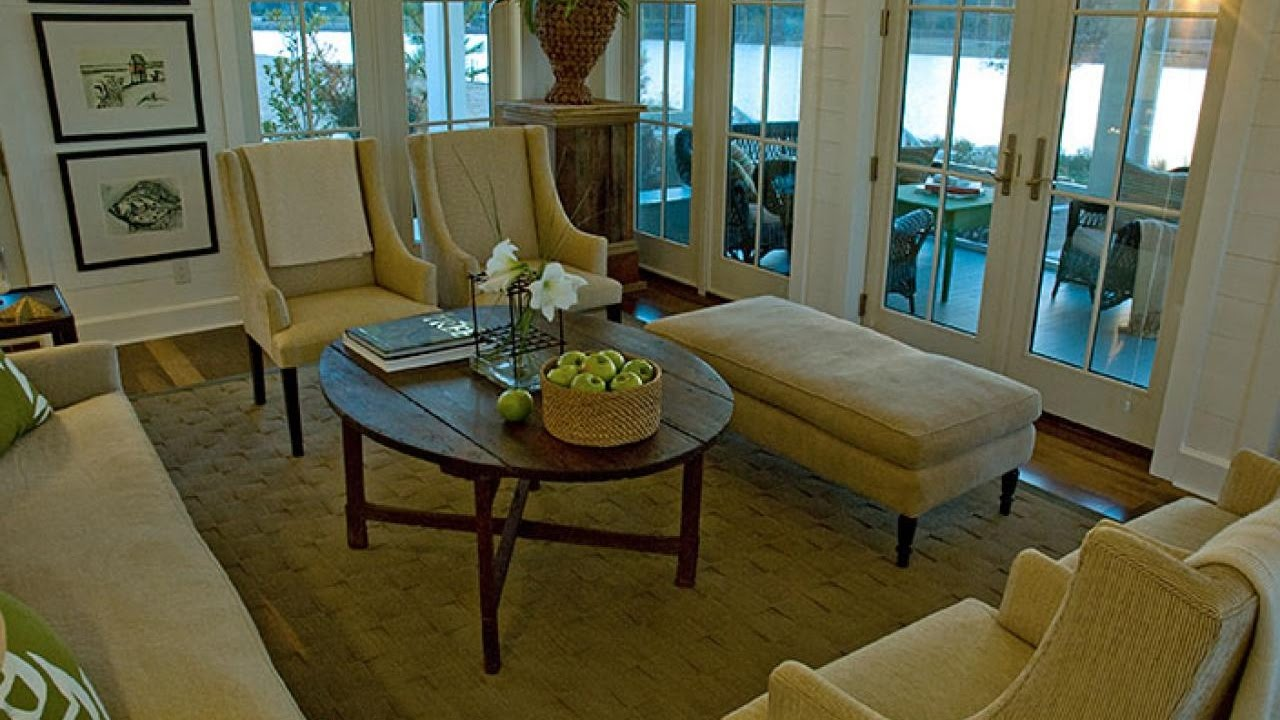 Nice Impressing Round Rustic Coffee Tables Bring Charming Decoration