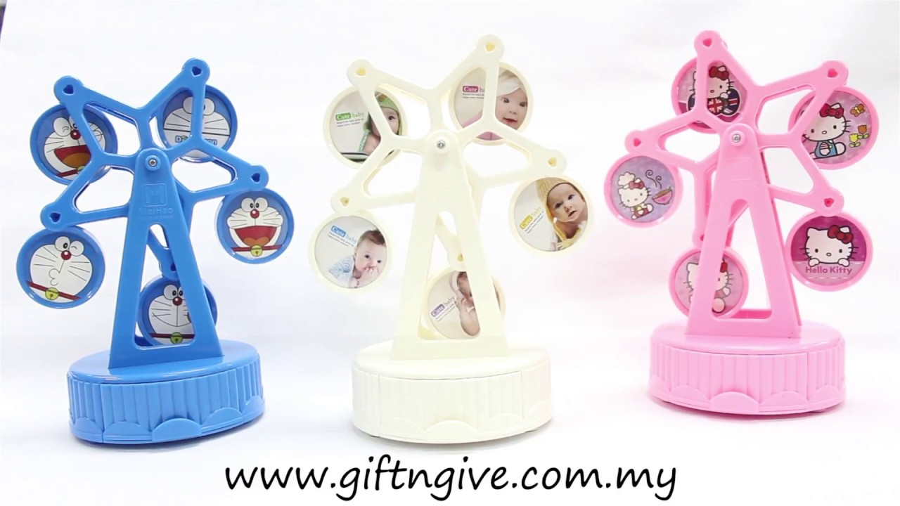 Ferris Wheel Photo Frame with Music - Gift N Give - MH301-303 - YouTube