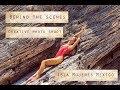 Beach photography photoshoot creative ideas. Swimwear photos. Isla Mujeres Cancun photographer.
