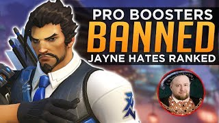 Overwatch: Pros BANNED for Boosting! - Jayne HATES Ranked