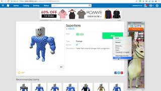 2017 How To Get Free Superhero Package Roblox gepatcht (Mai bis Dezember)