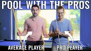 Florian 'Venom' Kohler Teaches Your Average Pool Player, Rollie Williams  How To Shoot!