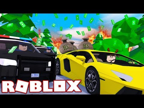 $1,000,000 BANK ROBBERY POLICE CHASE IN ROBLOX! (ROBLOX JAIL