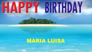 MariaLuisa   Card Tarjeta - Happy Birthday