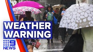Storms Due For Sydney And Central Coast   9 News Australia
