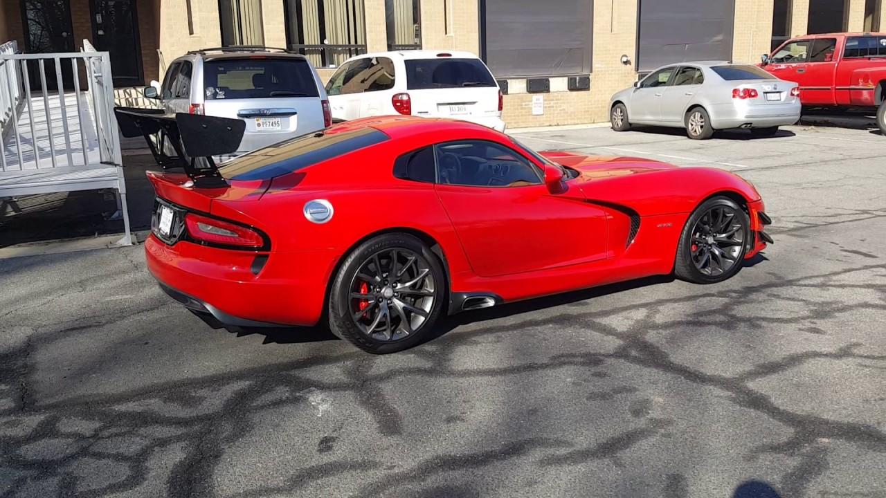 Viper Gts Gen 5 Pickup From Dealer