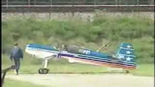 Flat Spin and Prop Comes Off at Airshow
