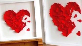 видео Как украсить дом на День Святого Валентина
