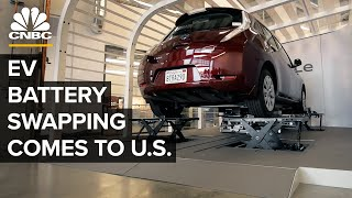 Can EV Battery Swapping Take Off In The U.S.?