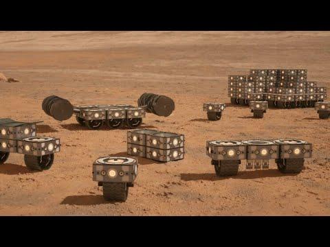 كبسولات قابلة للنفخ لإيواء رواد الفضاء على سطح المريخ