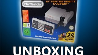 NES Classic Mini Unboxing Video