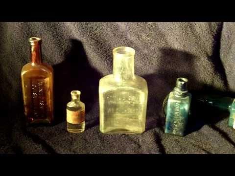 Antique Bottle Collection   [Medicine]