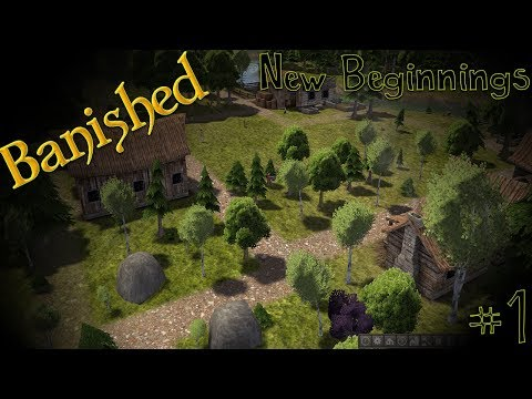Modded Banished - New Beginnings #1