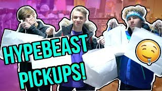 SHOPPING FOR HYPEBEAST STREETWEAR IN NYC!! (GUCCI, BAPE, OFF WHITE, AND MORE)