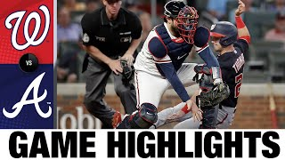 Nationals vs. Braves Game Highlights (9/9/21)