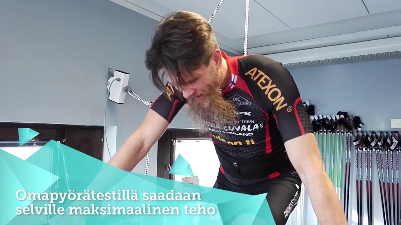 Mr. Fatbike Ski Soini omapyörätestissä