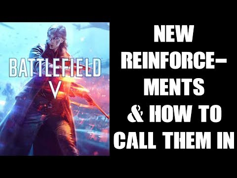 BFV Battlefield 5: New Artillery & Smoke Reinforcements & How To Call Them In (PS4)