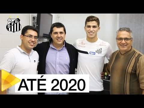 Vitor Bueno renova com o Peixe até 2020