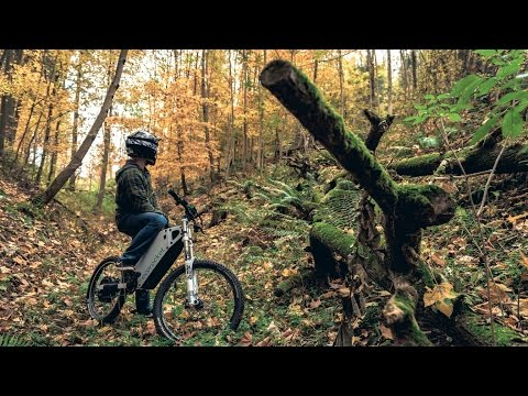 ECOROCKET | First Uncut Ride - Silent Electric All-Terrain F