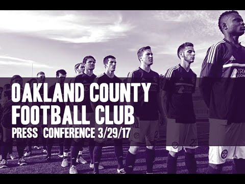 Oakland County Football Club and the Premier League of America.