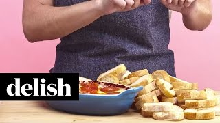 How To Make Pizza Dip | Delish