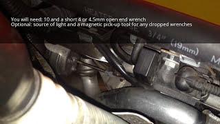 N54 Wastegate Actuator Rod Adjustment: Turbo Wastegate Rattle Fix