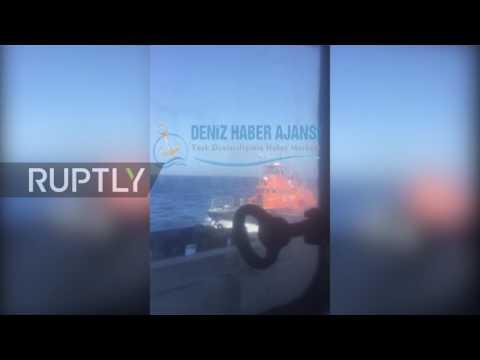 Greece: Greek coast guard opens fire on Turkish vessel in Aegean Sea - reports