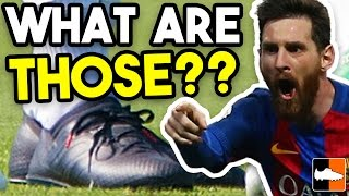 Messi's New Boots?! Mystery Black-Out Boots!