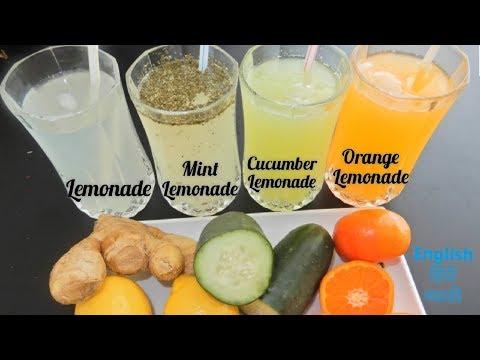 Classic Lemonade   Orange Lemonade   Cucumber Lemonade   Mint Lemonade   Summer special cold drinks