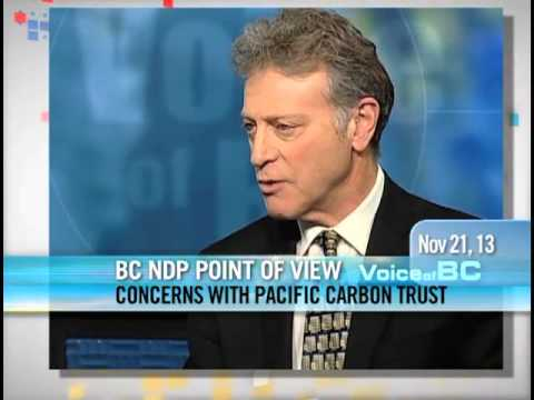 George Heyman - Concerns With The Pacific Carbon Trust