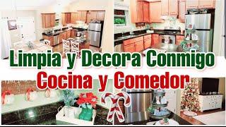 Ideas para decorar la cocina en Navidad 2019 / Limpieza y  Decoracion NAVIDEÑA de la cocina /Marcel