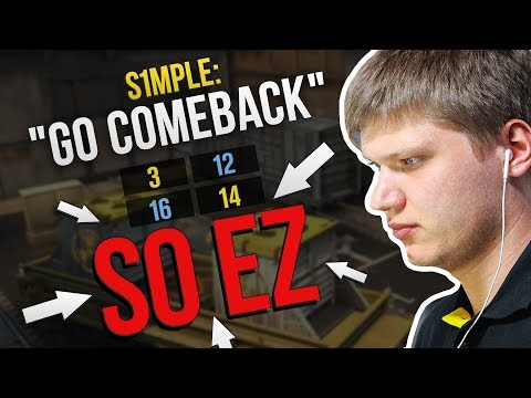 EPIC COMEBACK BY S1MPLE