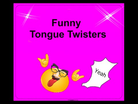 13 funny Tongue Twisters [english]