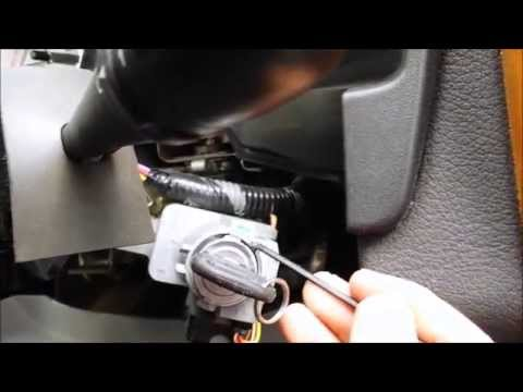 Saturn Vue ignition cylinder removal, re-key and re-install.