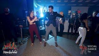 Dimitris Psychogyios & Chrisa Dami - Salsa social dancing | Mamboland Milano 2018